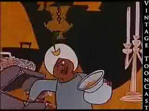 Vintage Cartoon - Ali Baba