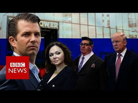 How a meeting he wasn't at could hurt Donald Trump - BBC News