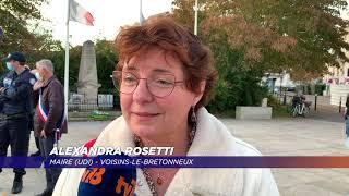 Yvelines | De nouveaux hommages ont été rendus à Samuel Paty sur Saint-Quentin-en-Yvelines