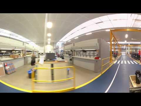 Immersion au sein de la SKF Solution Factory France - Vidéo 360°