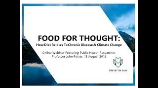 How diet relates to chronic disease & ...