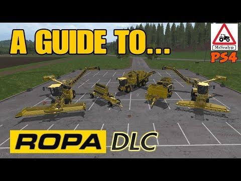 Farming Simulator 17 PS4: A Guide to... ROPA DLC