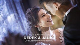 Filming Art | Derek & Janice_Full Highlight by Signature Director