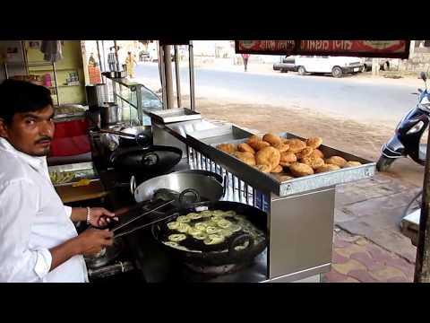 Famous Street Food Shop RAJASTHAN - Fafda and Jalebi Recipe - INDIA