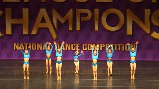 4th Overall Mini Open Small Group (Age 8) Canadian Dance Company (O...