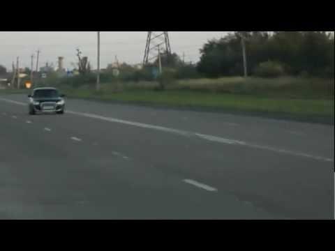 Lada Priora 115hp vs. Hyundai Accent 1.6 chiptuning 402m
