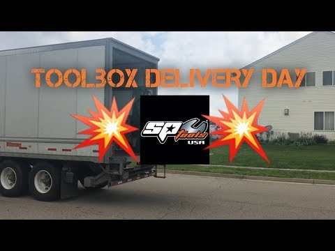 *DELIVERY DAY* SP TOOLS USA TOOLBOX!!