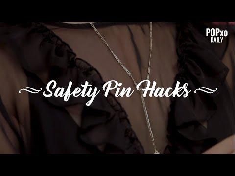 Safety Pin Hacks  POPxo