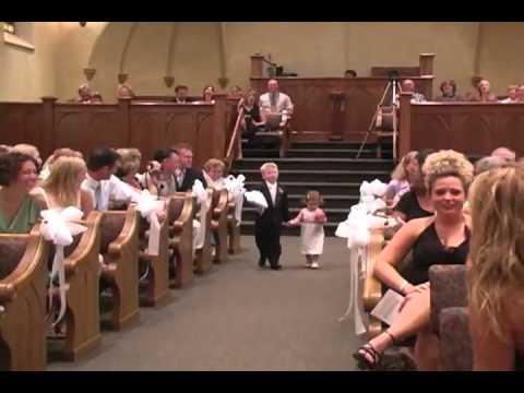 Неудачное начало свадебной церемонии
