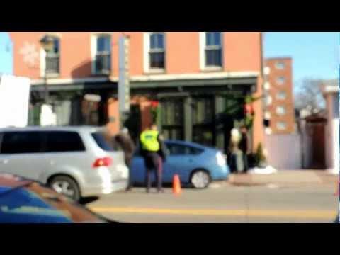 Filming in Streetsville