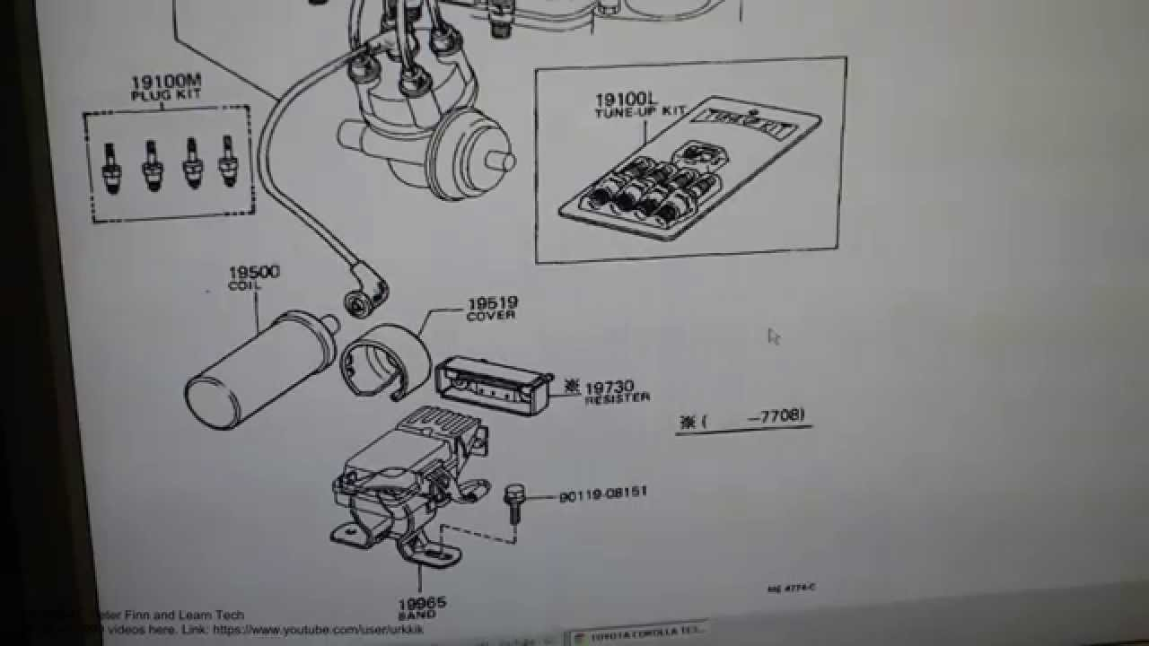 how to purchase new ignition coil to toyota corolla year model 1978 usa model [ 1280 x 720 Pixel ]