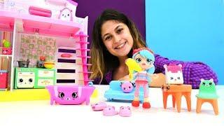 Ayşe ve Shopkinks bebek oda yapıyor. Çocuk videoları