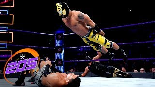 Linde Dorado & Gran Metalik vs. Itami & Tozawa - Tornado Tag Team Match: WWE 205 Live, Apr. 17, 2018