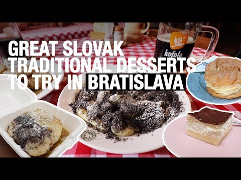 GREAT Slovak Traditional Desserts To Try In Bratislava