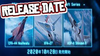 Ace Combat 7 - ORIGINAL AIRCRAFT DLC RELEASE DATE CONFIRMED! [10/28/2020]