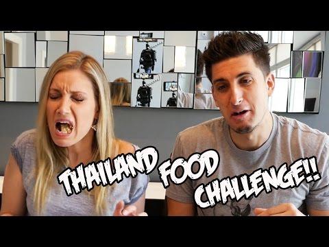 THAILAND FOOD CHALLENGE!!!!!