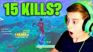 Can I Get a 15 Kill solo win? (Pro Soccer Skin Victory Royale!)