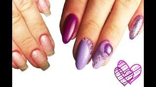 🌸 Смена формы 🌸 CANDY BALL 🌸 ПОПУЛЯРНЫЙ дизайн ногтей гель лаком 🌸 PINK BEAUTY 🌸 BUBBLE ROSE 🌸