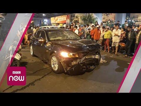 Bắt tạm giam nữ doanh nhân lái BMW gây tai nạn   VTC Now
