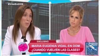 """Vidal """"un docente no debería ganar menos de 40 mil pesos"""""""