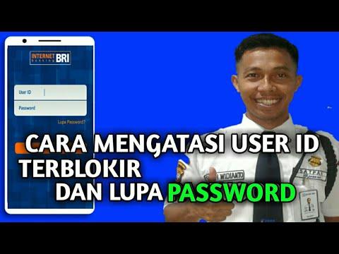 Cara Mengatasi User Id Terblokir Lupa Pasword Internet Banking Bri Youtube