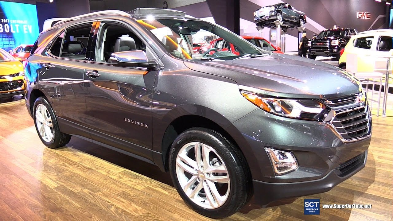 2017 Chevrolet Equinox Premier Exterior And Interior Walkaround Debut At 2016 La Auto Show