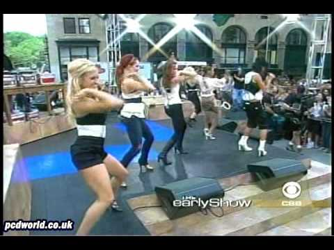 Pussycat Dolls Live at Early Show - Buttons