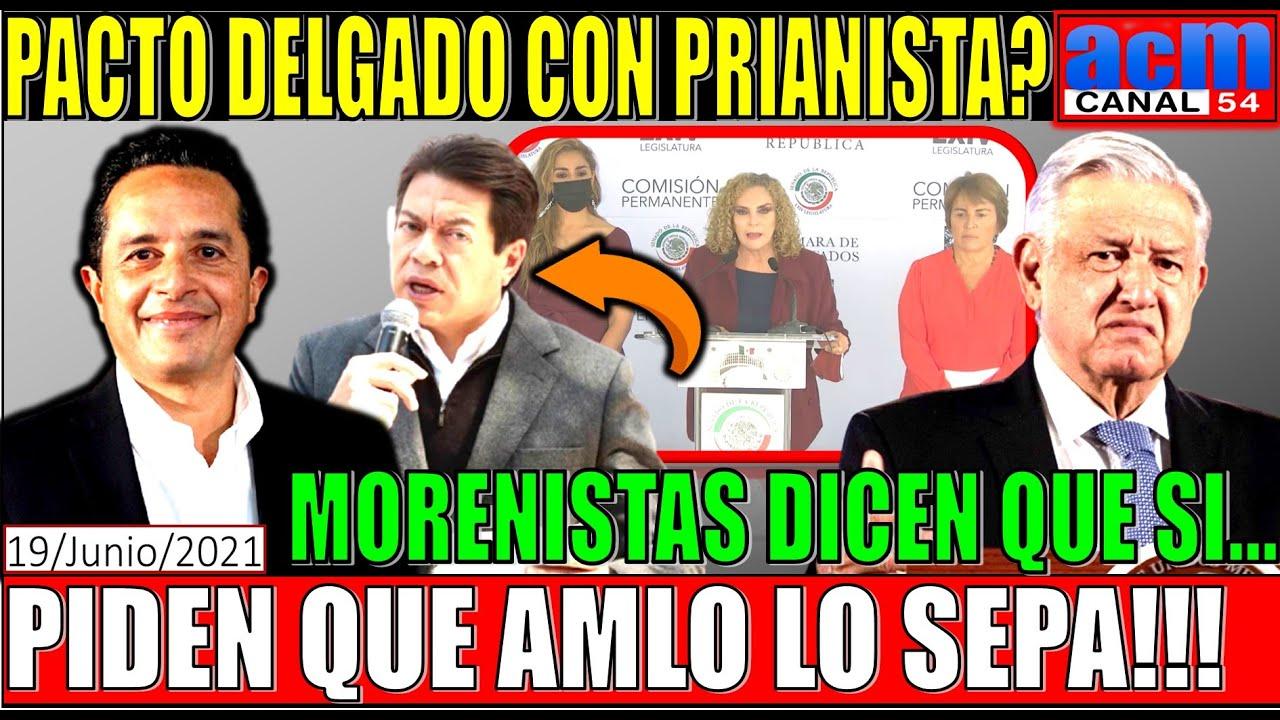 MARIO DELGADO PACTO EN QUINTANA ROO!!! MORENISTAS PRESENTAN QUEJA ANTE FEPADE, DEBEN UNA EXPLICACIÓN