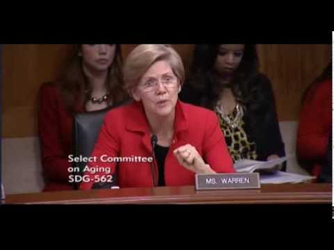 Senator Elizabeth Warren - The Fight Against Cancer