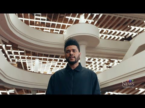 Hometown love: The Weeknd sheds light on Toronto in new video