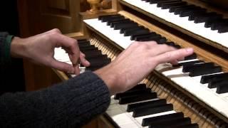 Benjamin ALARD, Orgue ?  J.S.  BACH - Choral de Leipzig : Nun komm, der Heiden Heiland - BWV 660