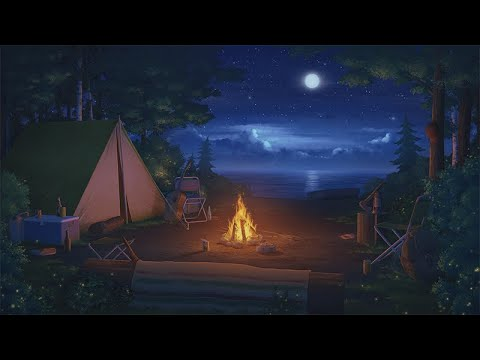 Campfire Lofi Jazzhop Chill Mix Youtube