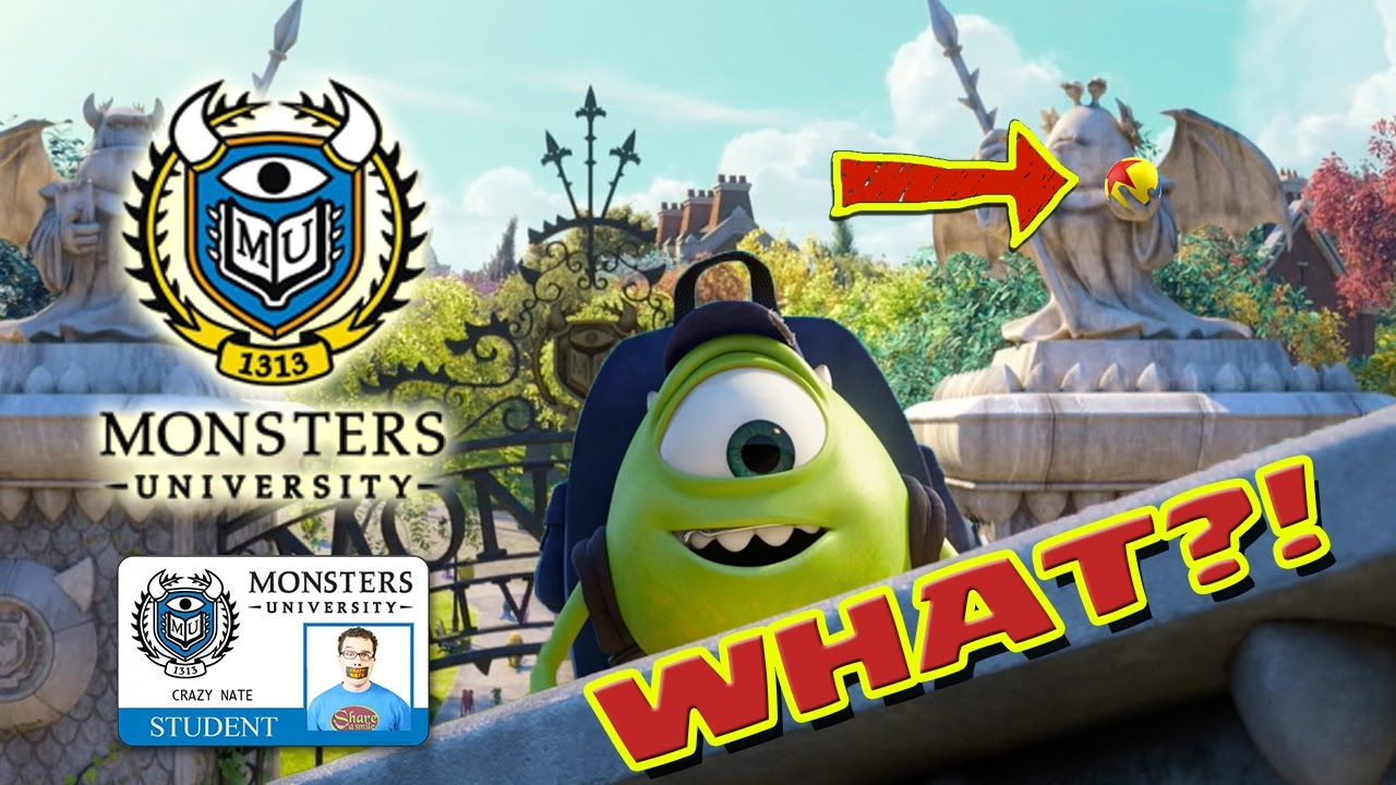 monsters university everything you missed youtube