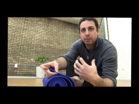 SA Wellness Centre - Manduka yoga mat and bag (review)