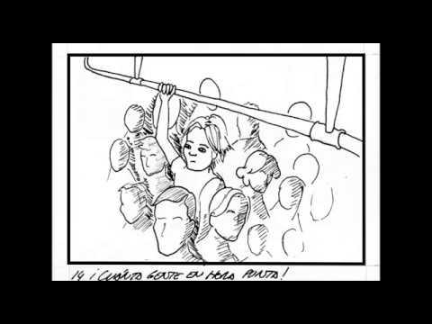 "Animated Sequence for SEMINCI Advertisement ""Ama de casa"""
