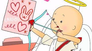 Caillou en Francais Caillou le Cupidon de L'amour dessin anime dessin anime pour beb ...
