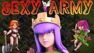 [facecam] SEXY ARMY! || CLASH OF CLANS || Let's Play CoC [Deutsch/German HD]