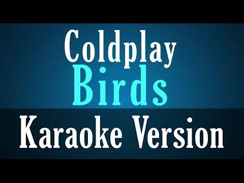 Coldplay - Birds Karaoke Instrumental Lyrics