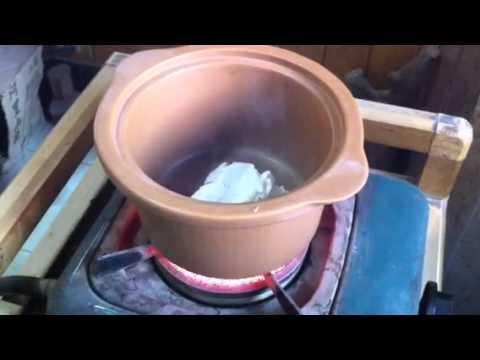 Heat Resistant Ceramic Pot Test