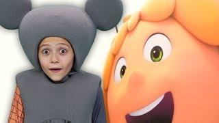 ПЧЁЛКА МАЙЯ и КУБОК МЁДА 2018 - Кукутики посмотрели мультфильм Maya the Bee: The Honey Games