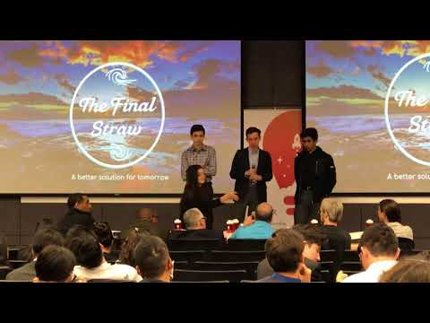 The Final Straw Pitch and Q&A at LaunchX Southern California Demo Day