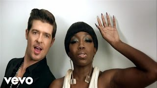 Watch Robin Thicke Rollacoasta video