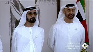 محمد بن راشد ومحمد بن زايد يهنئان حماة الوطن في ميادين الواجب والإنسانية بعيد الفطر