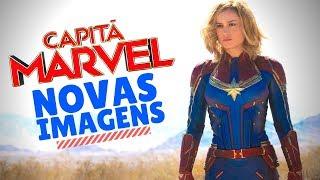 CAPITÃ MARVEL FILME   NOVAS IMAGENS - NOVAS TEORIAS - Jujuba ATÔMICA