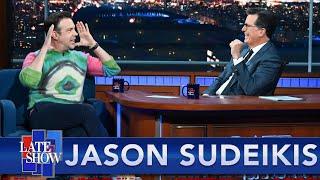 "Jason Sudeikis On Why He Wore The ""Jadon, Marcus, Bukayo"" Sweater"