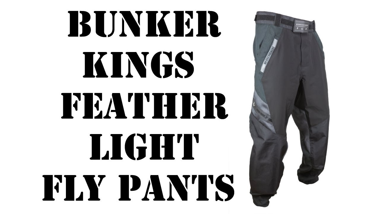7a9a5c8f443 Bunker Kings Featherlight Fly Pants - YouTube