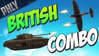 War Thunder Tanks! BLACK PRINCE & TEMPEST VICKERS!