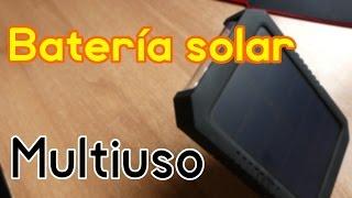 Batería solar multiuso de Dodocool - Review