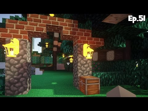 """BOTANICAL GARDEN"" Minecraft Enchanted Oasis Ep 51"