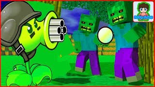 Майнкрафт напал на растение против зомби смотреть Minecraft Plants vs zombie От Фаника 12